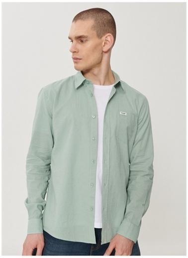Wrangler Wrangler W211841300_Uzun Kollu Gömlek  Yeşil